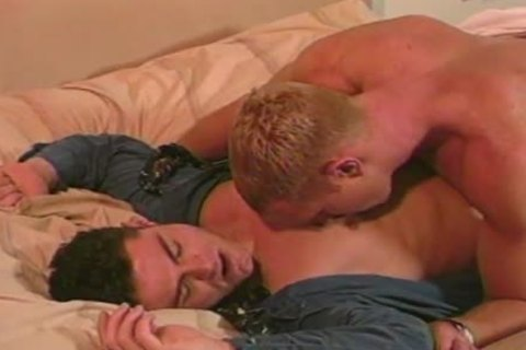 Dave Russell And Dax Kelly fine homosexuals In Action