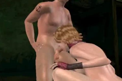 3D tranny acquires double teamed