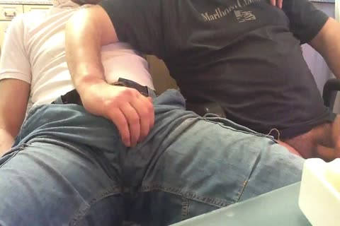 I Had Loads Of enjoyment Playing With This boy's Bulge And Swallowing His large cock. oral sex Starts At Around 5 Mins