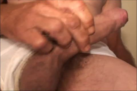 Just A not many Minutes Of A video I Have, An old ugly chap Shows His nice-looking large Uncut impure penis And impure a-hole