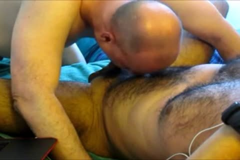 Daddy's gigantic swallow