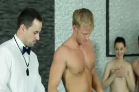 homo guy receives nailed In A bi-raunchy Party