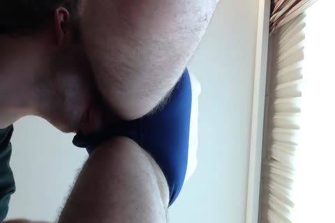 sucking Off My Boyfriend In His naughty Blue Briefs. cum discharged To follow As video Was Too long previous to.