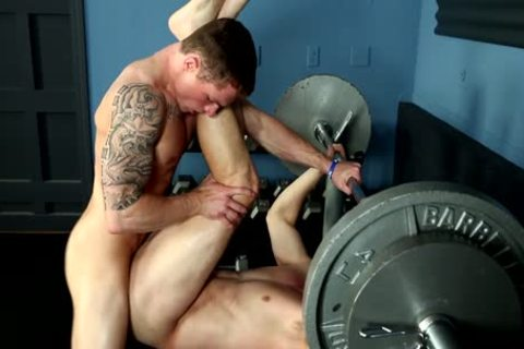 Markie more And His ally acquire horny In The Gym
