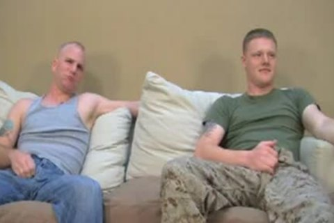 Two str8 Marines Have Gaysex For specie