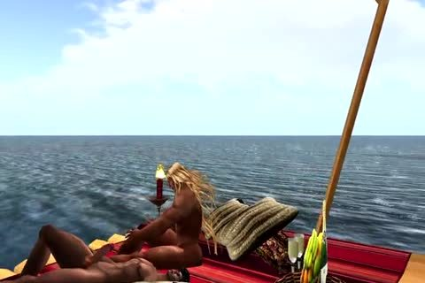 Coming Home Form A Fishing Trip And Find Your Partner Floating On A Raft Which Makes u stunning En The Rest Is As It Is.
