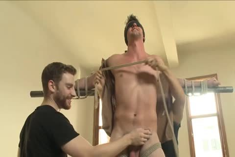 bdsm - Southern stud gets His ramrod Edged.