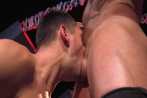 Austin Wolf  Uses Brenner's throat & booty