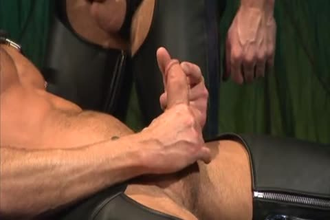 Leather plowing And Fisting: Colin Steele & Rick Van Sant