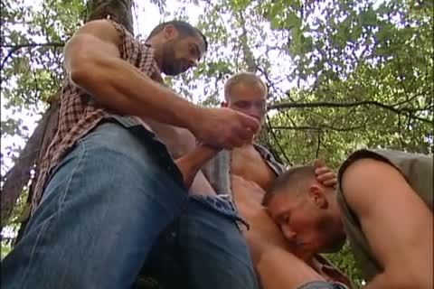 banging And Fisting In The Forest: Dirk Jager, Lars Svensen & Rick Van Sant
