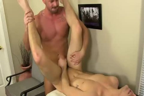 lustful Boss Mitch Vaughn bonks Dustin Fitch In His arsehole