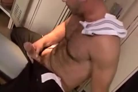 Locker Room homosexual castigation