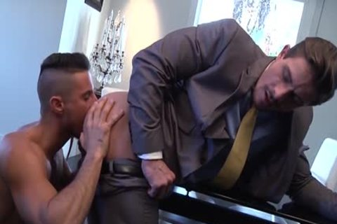 Muscle lad anal-copulation With cumshot