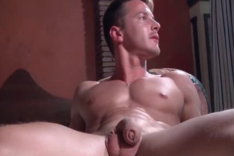 A Super Fit Muscle cock receives His bulky rigid 10-Pounder Blown On My A Beard lad