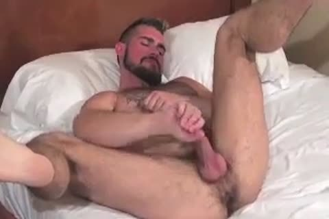 gigantic Bear Daddy Breeds taut butthole bunch-sex taut gap In Some worthy Barebacking Session
