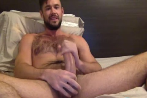 Mike De Marko Jerks His enormous Porn shlong