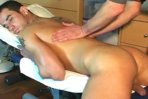 Frabice's biggest penis Massage ! (delivery dude For A homo dude)