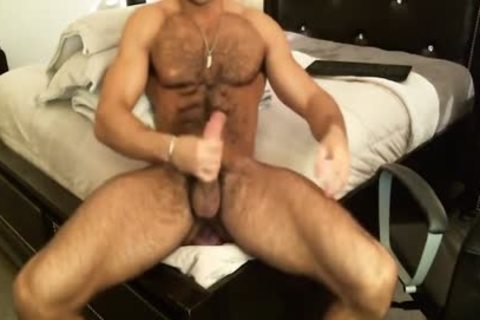 Hunk Sean Zevran toys His anal And Cums On cam