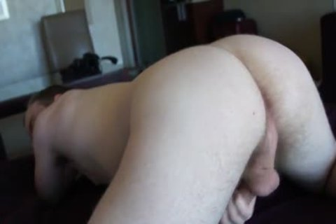 Toby Plays With His hole And shlong In His First