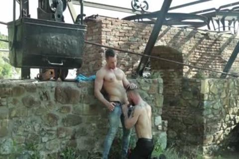 Russian homo Flip Flop And ejaculation