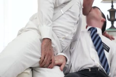 Ginger Bottom Passionately nailed bare By daddy Priest