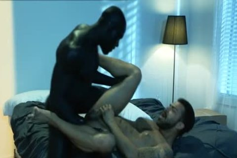 Muscle Bear Interracial And sperm flow