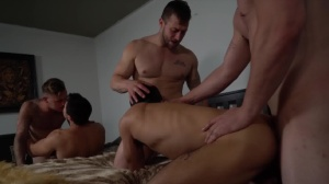 Pass The Bottom - Brian Michaels with Axel Kane anal Hook up
