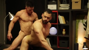 HomoPod - Paddy O'Brian with Enzo Rimenez booty Licking Hump