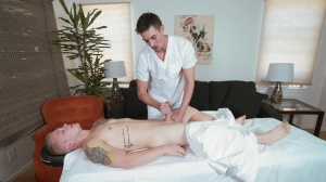 Secret Spa - Jack Hunter with Leo Luckett butthole Hook up