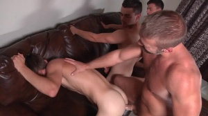 Stepfather's Secret - Dirk Caber with Johnny Rapid butthole Hook up