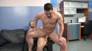 ball cream Bank - Colby Jansen with Travis James ass Nail