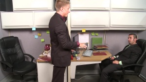 The Annoying Colleague - Diego Vena with Philip Aubrey ass poke