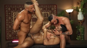 Telenovela - Lucas Fox with Massimo Piano anal Love