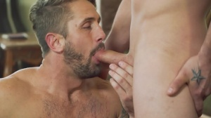 Robbing ramrod - Darin Silvers, Wesley Woods ass Hump