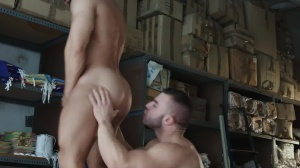Heart's crave - Francois Sagat and Diego Reyes butthole job