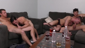 daddy group - Connor Maguire and Ashton McKay butthole fuck