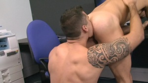 Foreign Exchange - Jay Roberts with Mike Colucci anal slam