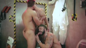 The End - Dato Foland with Paddy O'Brian anal Hump