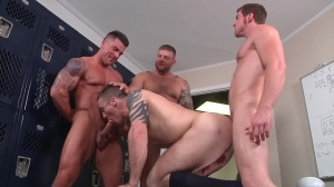Scrum - Colby Jansen, Connor Maguire anal sex