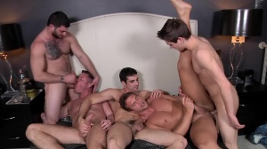 Tops only Required - Johnny Rapid with Rocco Reed butt poke