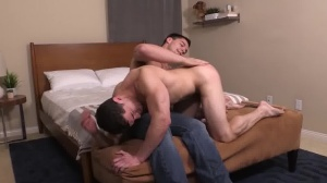 that guy Likes It rough & raw - sperm In face hole Love