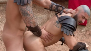 Sacred bunch Of Thebes - Francois Sagat with Ryan bones anal Hook up