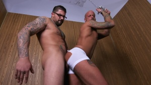 rough & moist - Ryan bangs and Edan Wolf American Hook up