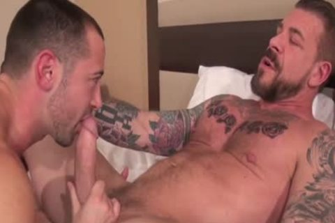 Rocco Steele plow Donnie Dean (bare)