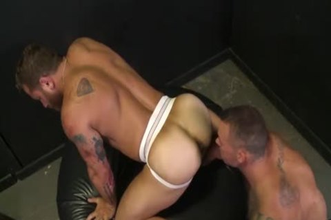 crazy For The large cock With Sean Duran & Riley Mitchel