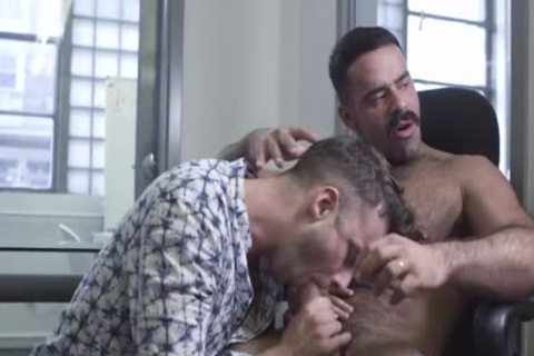 The Office, Part 1 – Teddy Torres plows Damon Heart raw