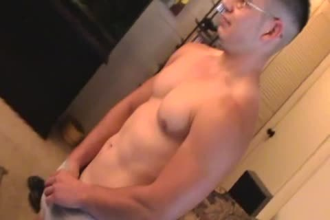 dirty Straight lad Makes Homemade jack off clip & Shows His taut hole