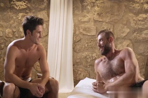 GayRoom - Dylan Knight poked By A Plunger And Peter Fields monstrous pecker