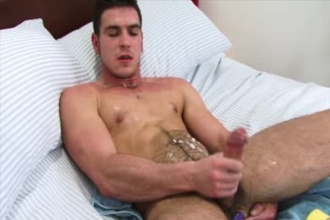 Paddy Jerks Off With A dildo