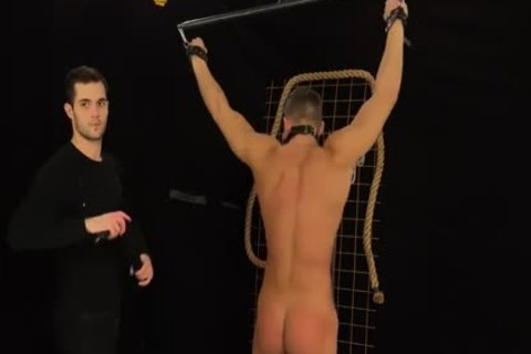Muscled Hunks get Bums Damaged In A Merciless servitude & Discipline Game